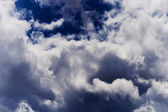 Stormy clouds — Stock Photo