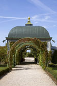 Arbour in Rundale Palace — Stock Photo