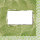 Beautiful abstract background with lace for congratulation or in — Stock Photo
