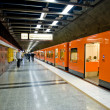 Helsinki metro - Stock Photo