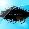 Stock Vector: Abstract Grunge background shining