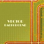 Vector vintage grunge background — Stock Vector