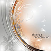 Elegantly shining background, eps10 format — Stok Vektör