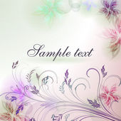 Elegantly background with pastel colors, eps10 format — Cтоковый вектор