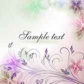 Elegant achtergrond met pastel kleuren, eps10 formaat — Stockvector