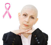 Breast cancer awareness — Stock Photo