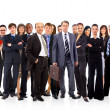 Young attractive business - the elite business team — 图库照片 #5385820