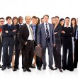 Стоковое фото: Young attractive business - the elite business team