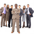 Young attractive business - elite business team — Stock Photo #5386064