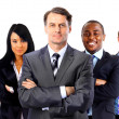 Young attractive business - elite business team — Stock Photo #5386647