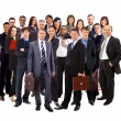 Young attractive business - the elite business team — Stockfoto #5498097