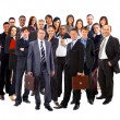 Young attractive business - the elite business team — ストック写真 #5498097