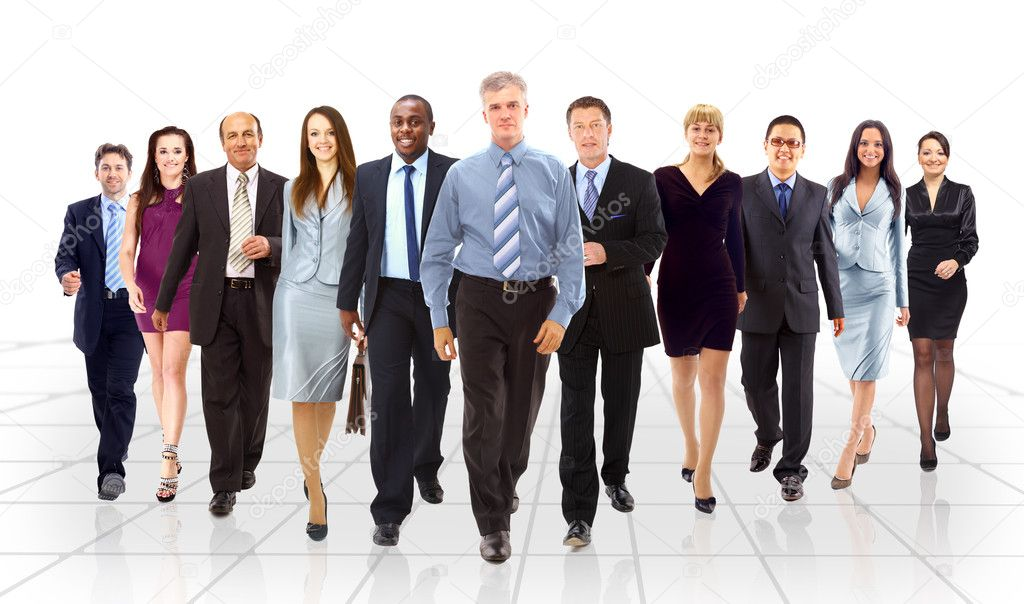 Business team going  — Stock Photo #5499070