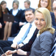 Business team in office — Stock Photo
