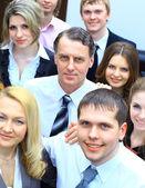Equipe de negócios no escritório — Fotografia Stock