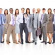Young attractive business - elite business team — Stock Photo #5574432