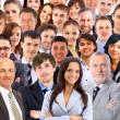 Collage of a large group of faces — Stock Photo #5574514