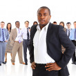 Young attractive business - the elite business team — Stock Photo #5576732