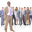 Young attractive business - the elite business team — Stock Photo #5576750