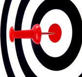 Success target — Stock Photo