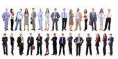 有吸引力的年轻商业-精英业务团队 — 图库照片