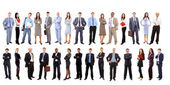 Jonge aantrekkelijke bedrijfsleven - het team van de elite bedrijf — Stockfoto