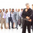 Business team or group at a meeting — Stock Photo #5705732