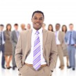 Business man and his team — Stock Photo #5705771