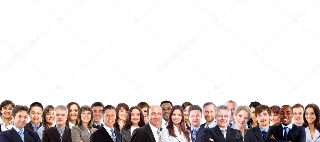 Group of business — Stock Photo #6204173