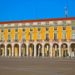 Portugal, Commerce Square in Lisbon — Stock Photo
