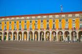Portugal, place du commerce à lisbonne — Photo