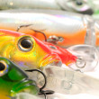 Fishing Lures (Wobblers) — Stock Photo