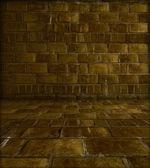 Grungy Brick Room — Stock Photo