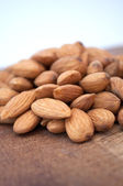 Pile of Almonds — Stock Photo