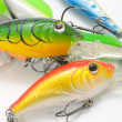 Fishing Lures (Wobblers) — Stock Photo #5777870