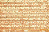 Muro di mattoni rossi — Foto Stock