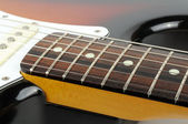 Lead Electric Guitar Close-up — Stock Photo
