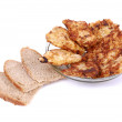 Fried chops — Stock Photo
