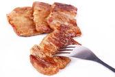 Fried steak — Stock Photo