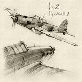 The Ilyushin Il-2 — Stock Photo