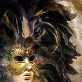 Venice Carnival mask — Stock Photo