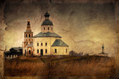 Russian churches — Stock Photo