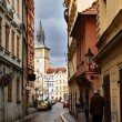 Stock Photo: Small street in Prague