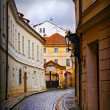 Small street in Prague — Stock Photo #6494915