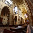 Interior of gothic cathedral — Stock Photo #6495004