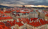 Prague evening — Stock Photo