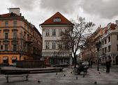 Prague square — Stock Photo