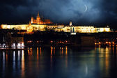Night Prague Castle — Stock Photo