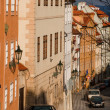 Street in Prague — Foto Stock