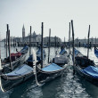 Venice gondolas — Stock Photo #6505044